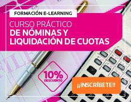 Curso e-learning Experto N�minas - Mayo 2016