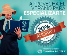 Aprovecha el verano para especializarte Revistas 20%