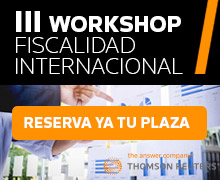 Workshop Fiscalidad Madrid